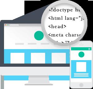 直感的な操作で、サイト作成し放題!SEOを意識したシンプルなソースと全てレスポンシブの静的サイトが完成