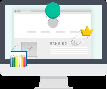 サイトをよりよく見せるHTMLテンプレートを随時追加!そして、コンテンツを<br>より魅力的にする素材も追加予定!